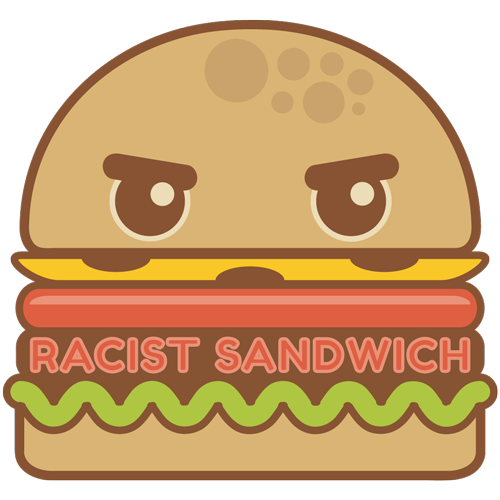 cartoon sandwich logo