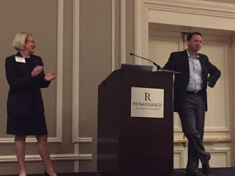 Bernadette Spong, CFO, Orlando Health & David Strong, CEO, Orlando Health