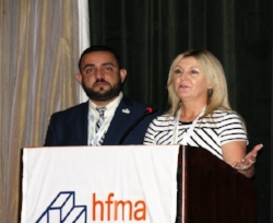 Jesús Manuel Corazon (PR) and Lisa Matthews (FL) Chapter Presidents