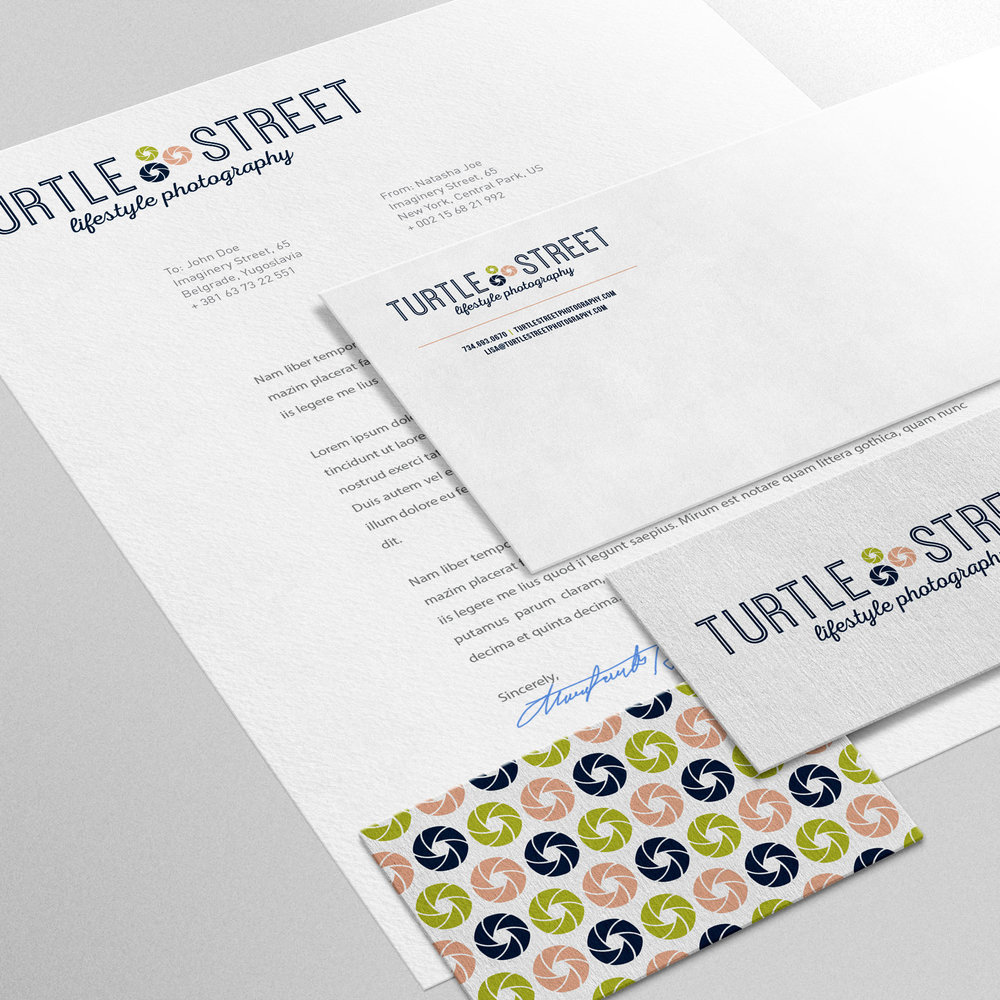 Turtle Street Photography Corporate Identity