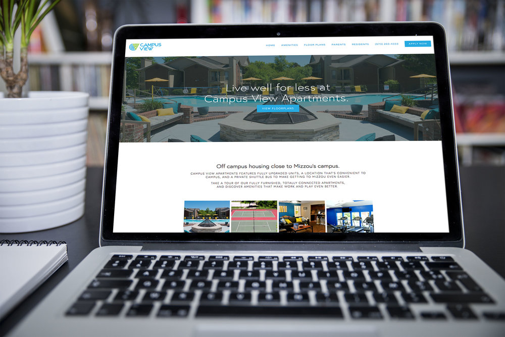 Campus View Apartments website