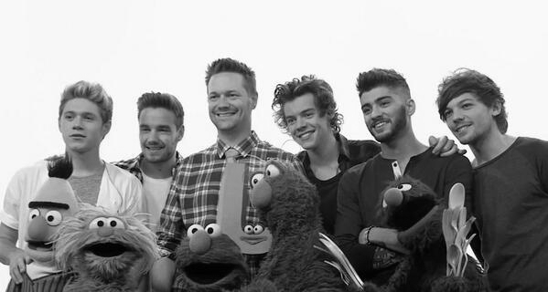 Nowadays I cannot think of that One Direction song without singing its Sesame Street companion version in my head.