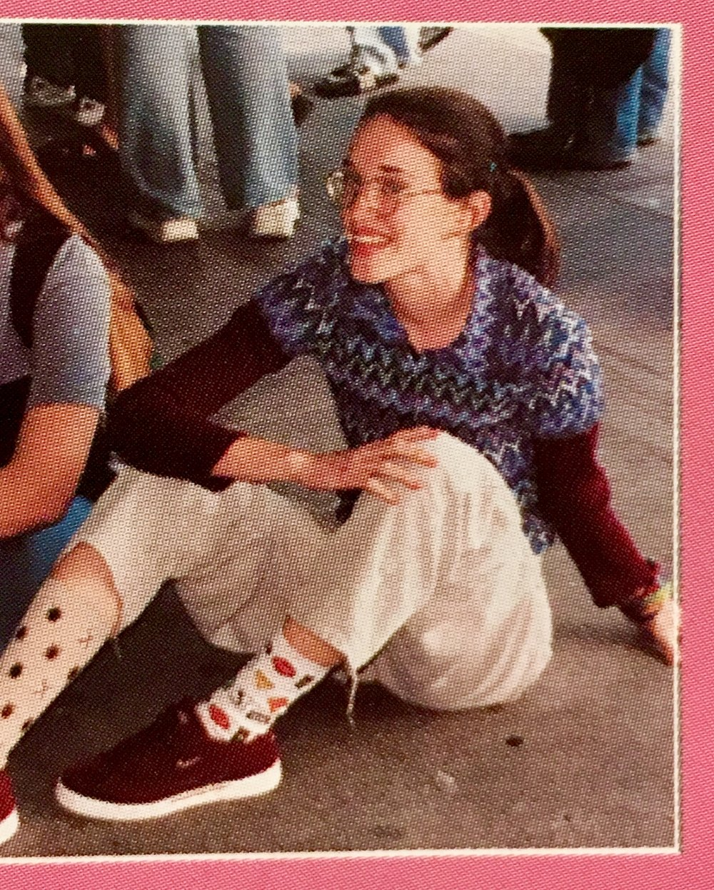 Also, this was how I dressed in the town I grew up in. On purpose, and I was immortalized this way in my yearbook. Furthermore, I don't regret it.