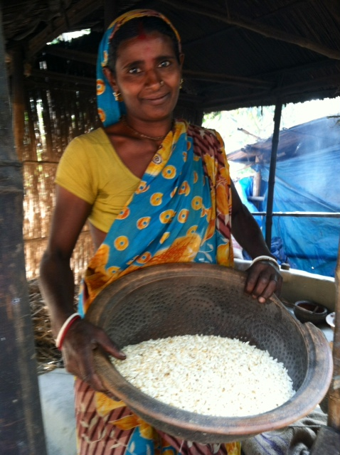 Loan recipient-rice husking business.JPG