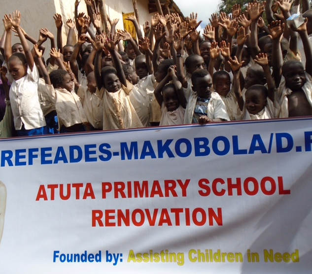 DEMOCRATIC REPUBLIC OF THE CONGO: REBUILDING A SCHOOL
