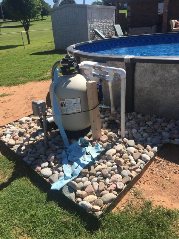 Element Above Ground Pool Pump & Filter