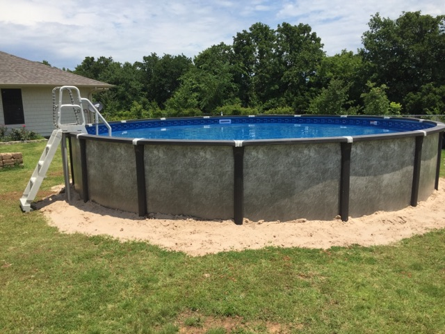Element Above Ground Pool Installation