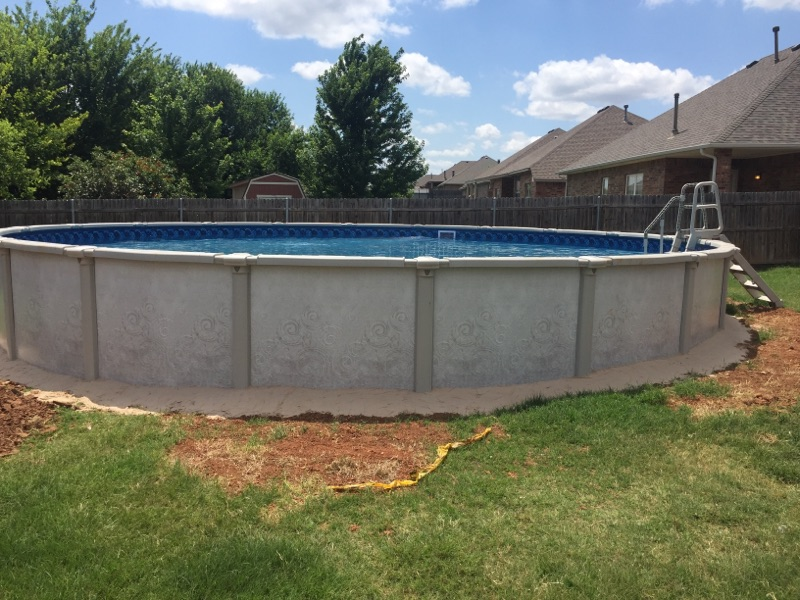 Influence Above Ground Pool Installation