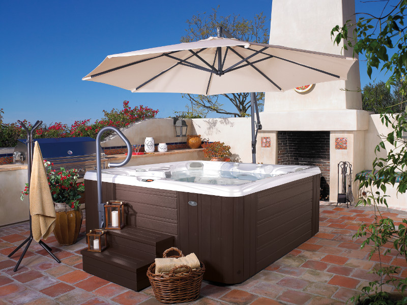 Caldera Salina Hot Tub