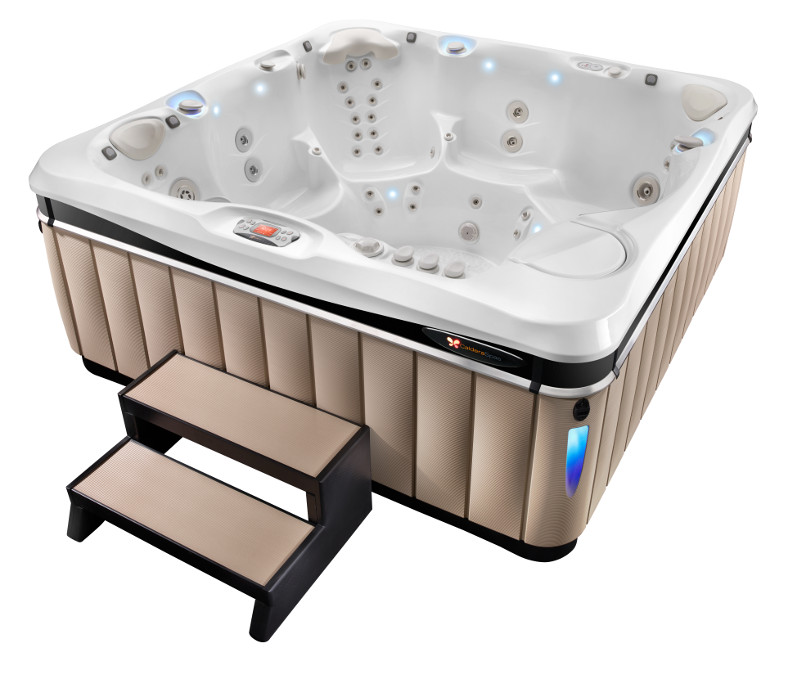 High-End Hot Tub Model