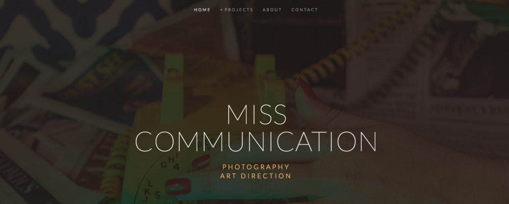 Miss Communication Photography