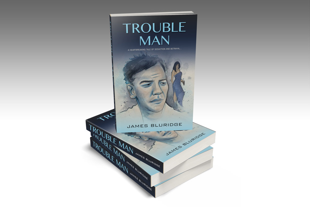 TROUBLE MAN - Book Cover Mock Up