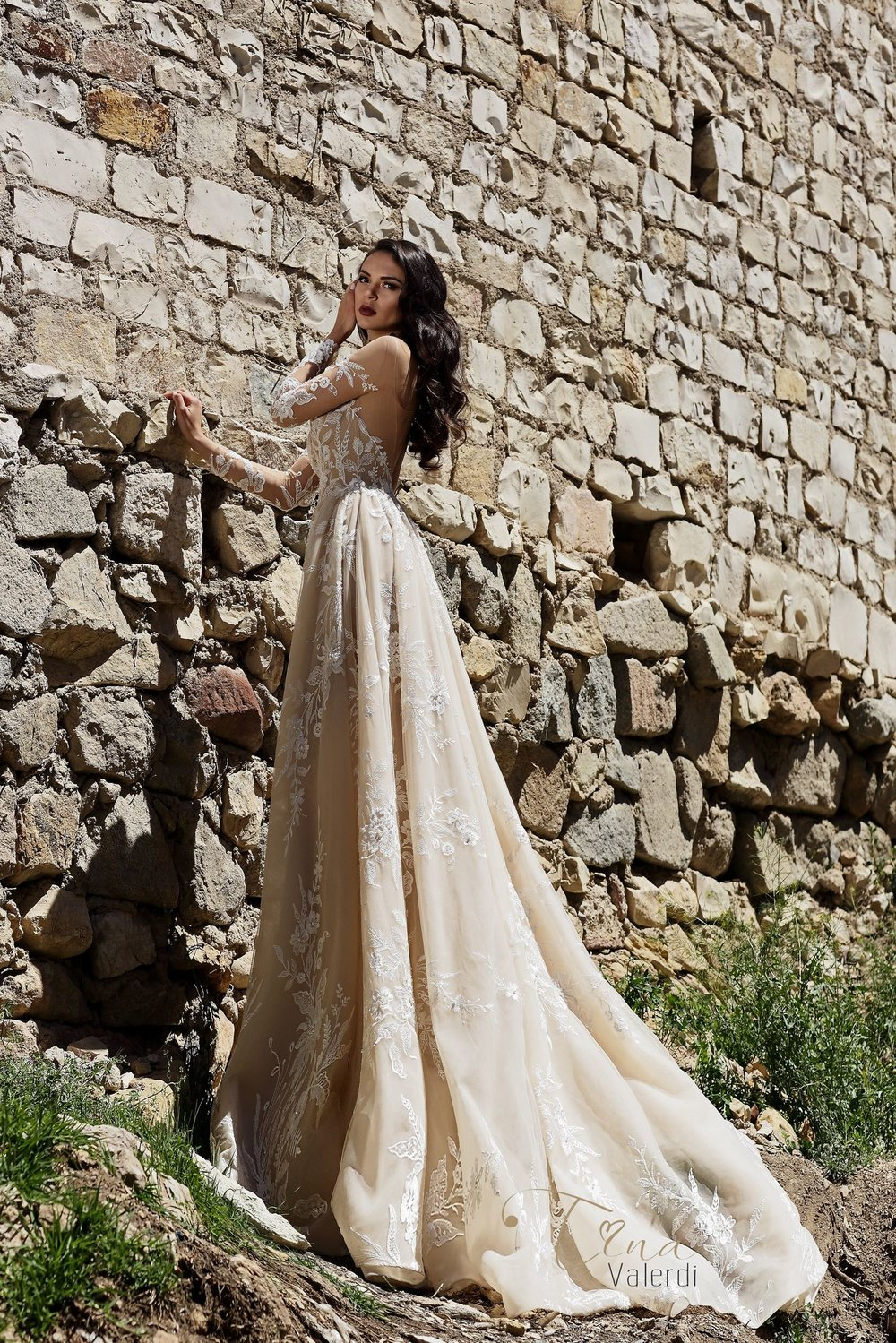 FIDELIA wedding dress by TINA VALERDI