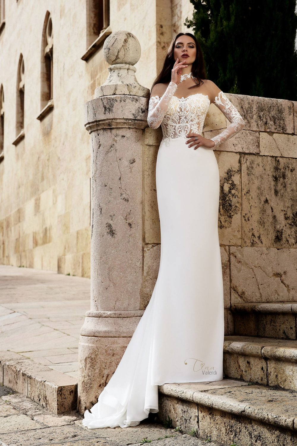 VIRGINIA Wedding Dress By TINA VALERDI