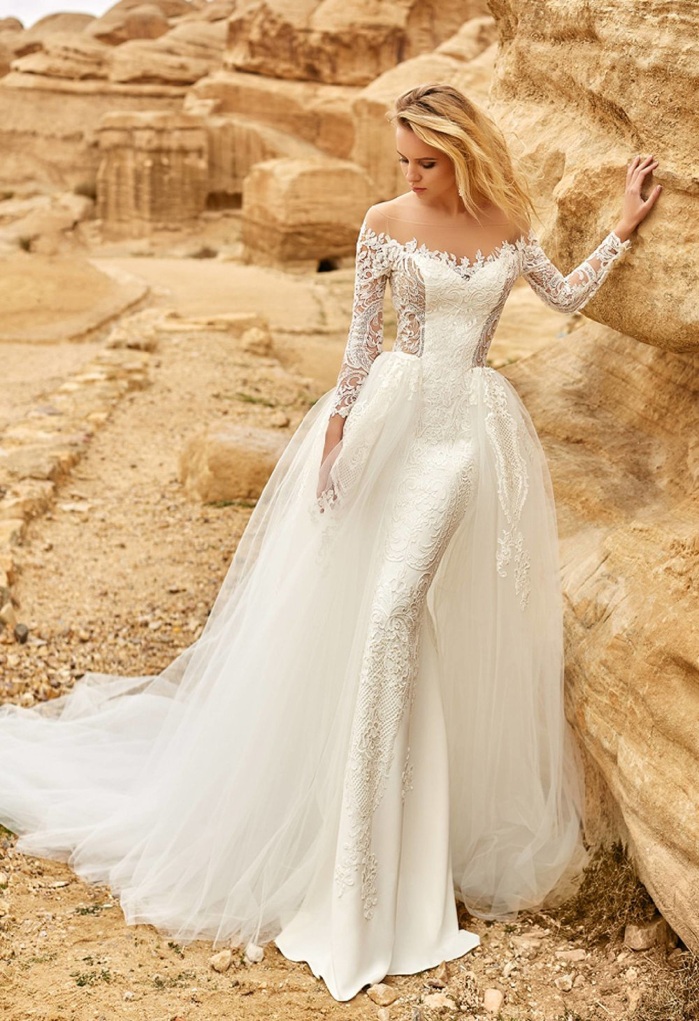 AMADEA Wedding Dress by OKSANA MUKHA