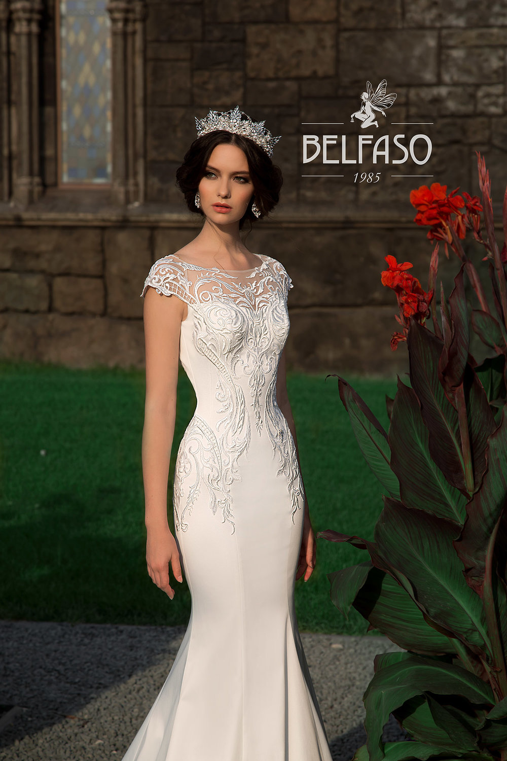 DANIA wedding dress by BELFASO