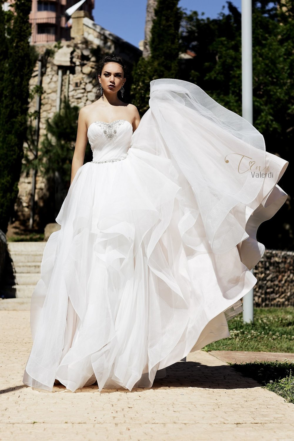 ANGELA wedding dress by TINA VALERDI