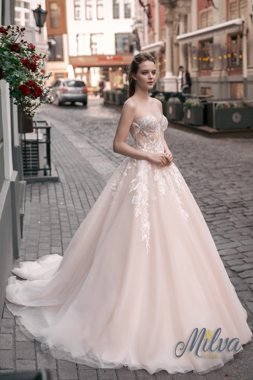 FLORA wedding dress by MILVA