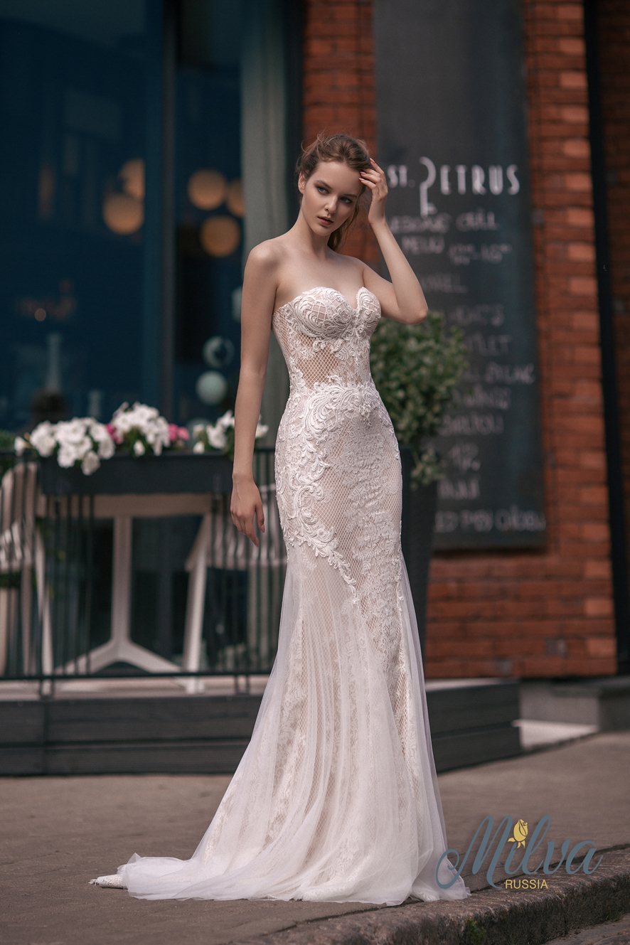 AMATA wedding dress by MILVA