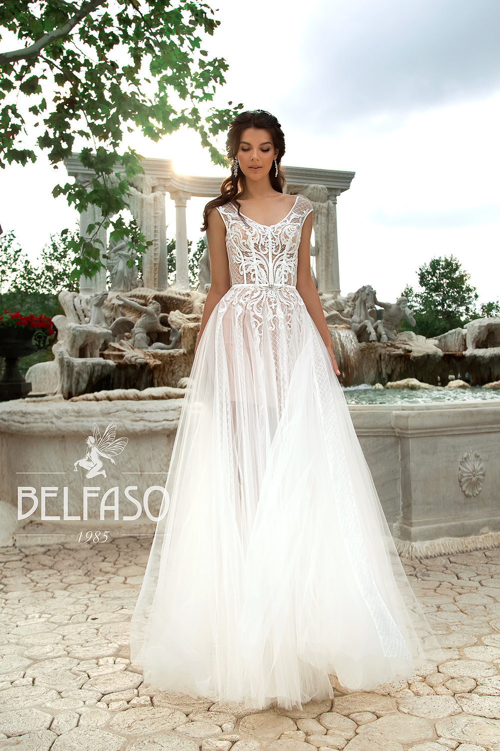 AKVA wedding dress by BELFASO