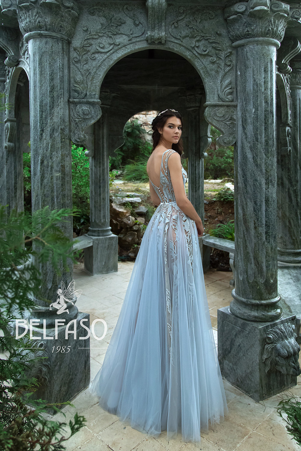 AKVA BLUR wedding dress by BELFASO
