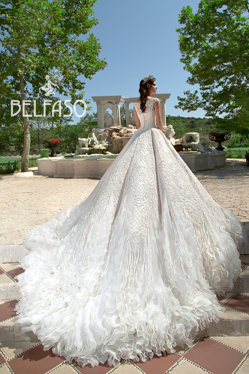 ELISIA wedding dress by BELFASO
