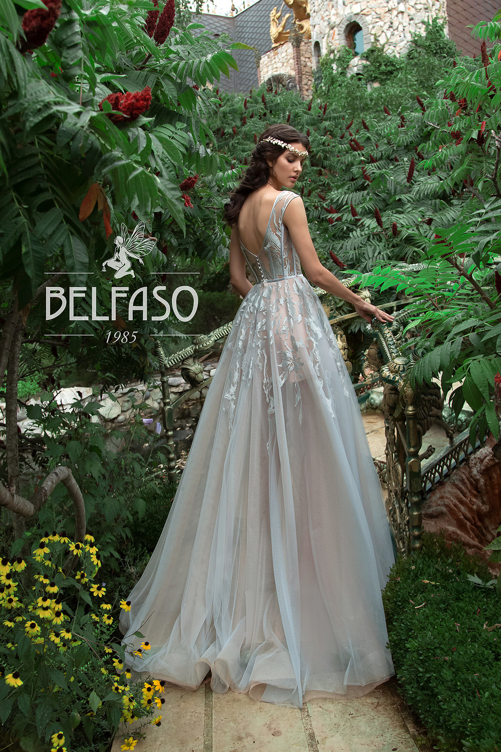 LILIT wedding dress by BELFASO