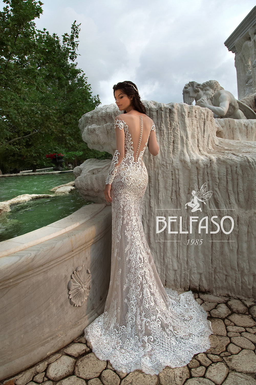 MON BLAN wedding Dress By BELFASO