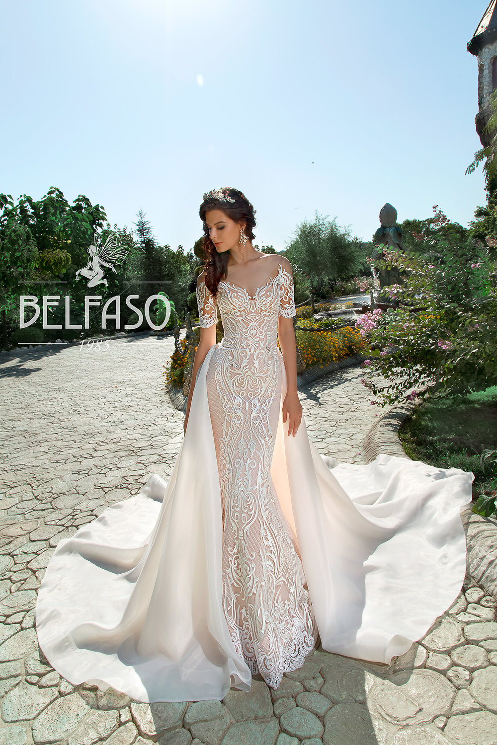 TERSIA Wedding Dress By BELFASO