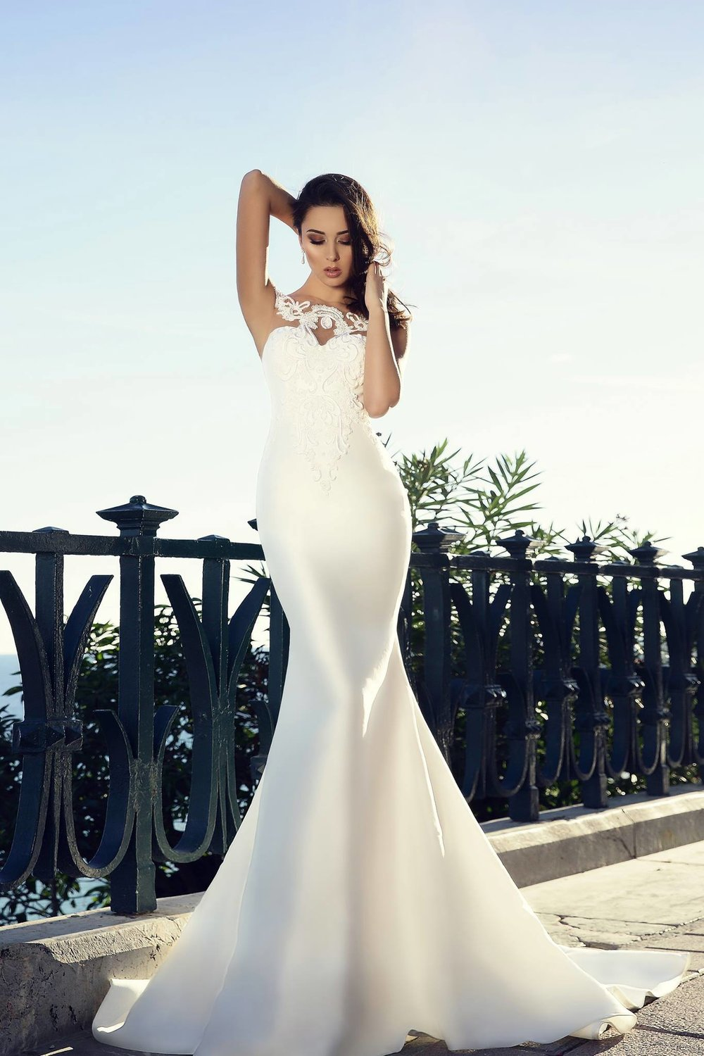 VANESSA wedding dress by TINA VALERDI