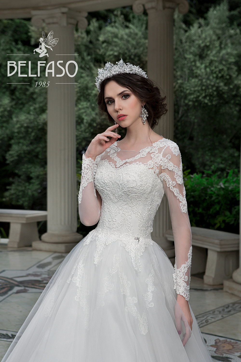 SABIRA wedding dress by BELFASO