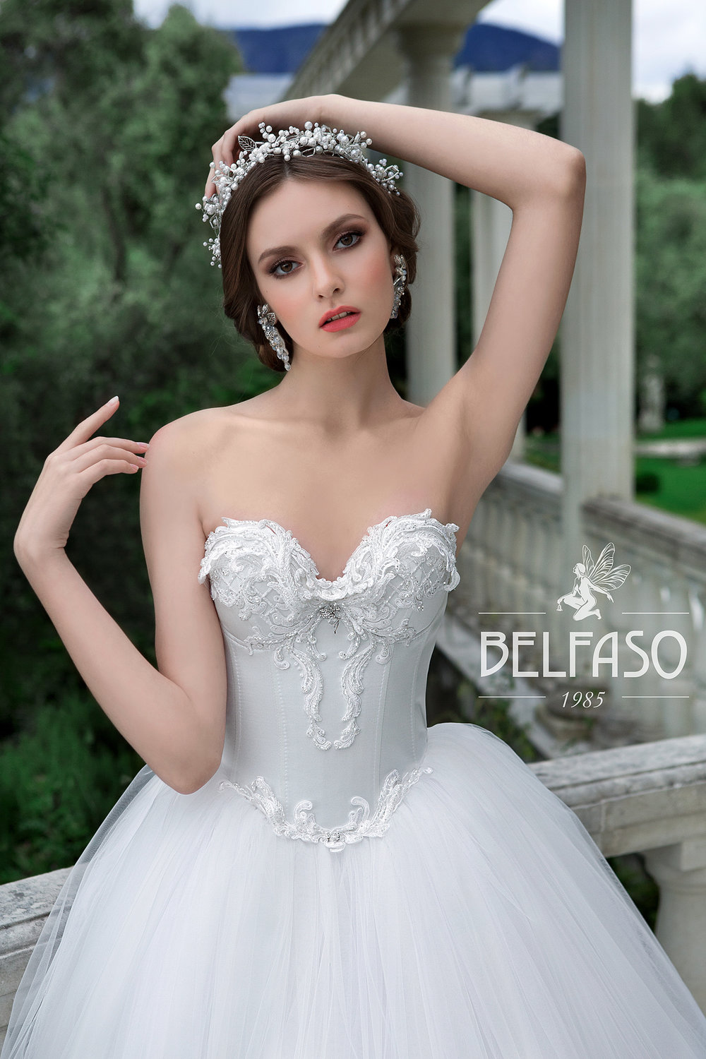LILU wedding dress by BELFASO