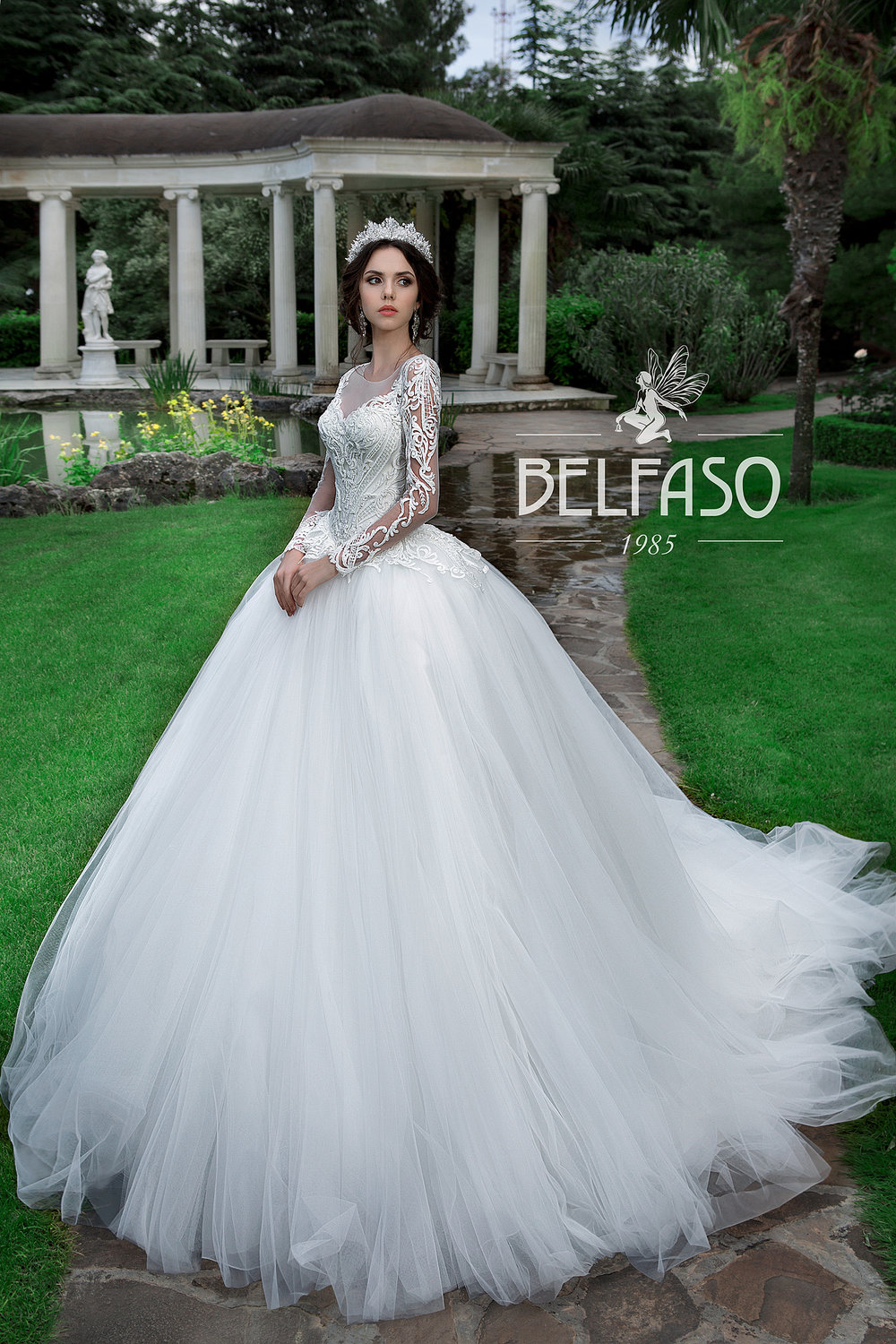 YASMIN wedding dress by BELFASO