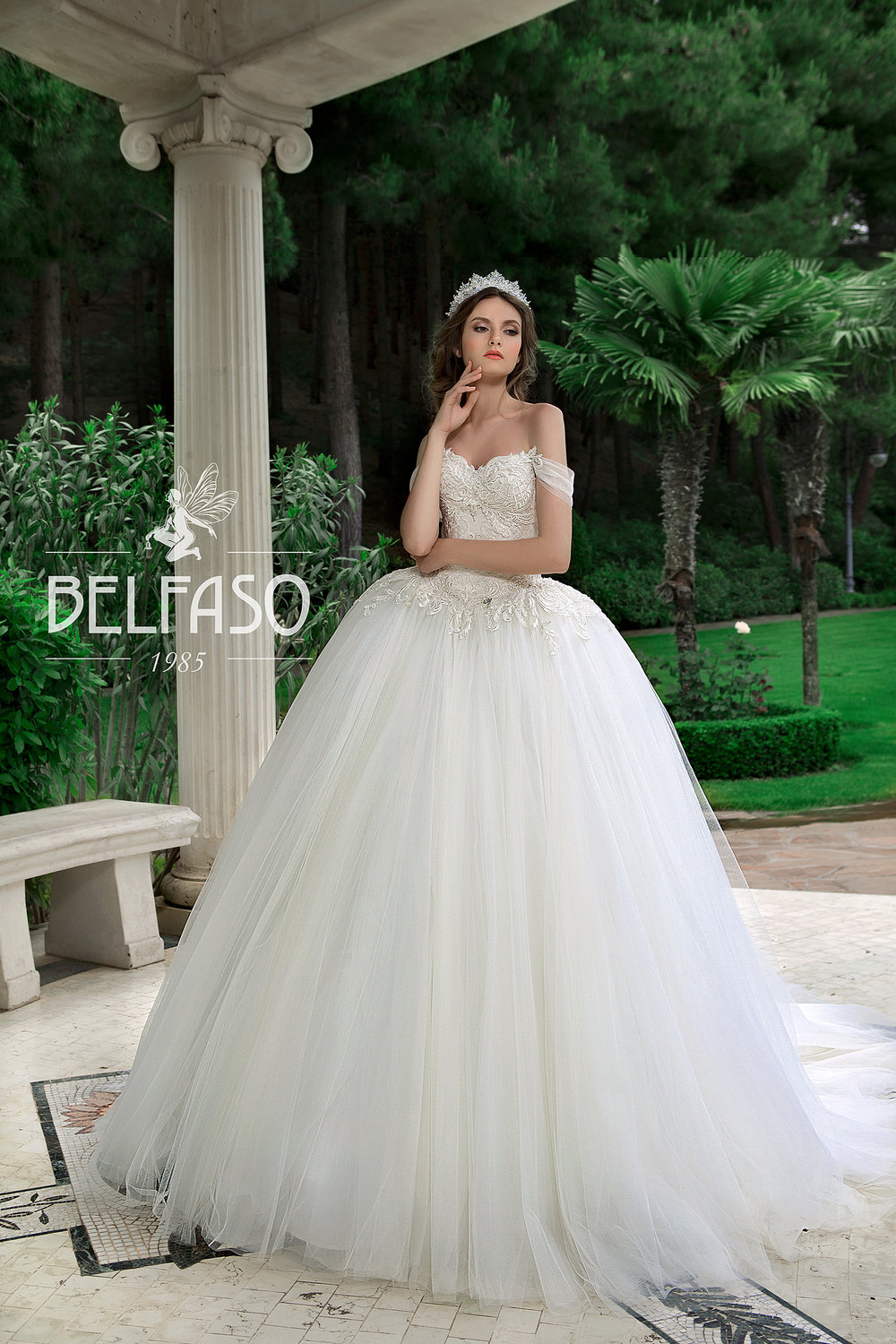 AMADEA wedding dress by BELFASO