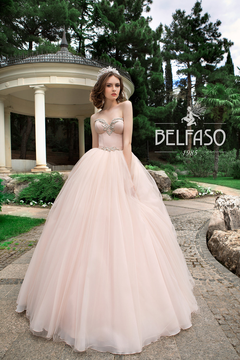 LOUREN wedding dress by BELFASO