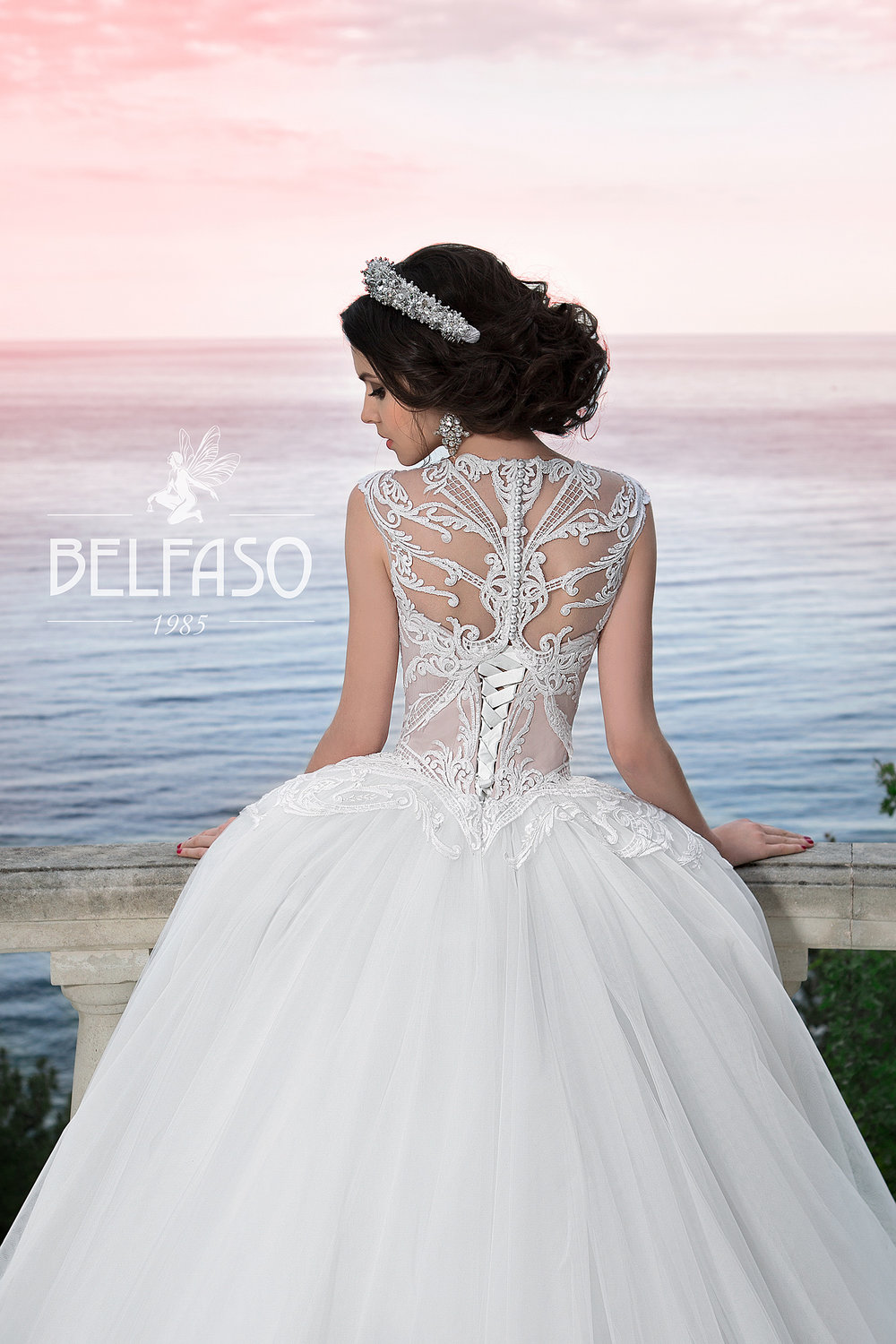 EVANGELINE wedding dress by BELFASO