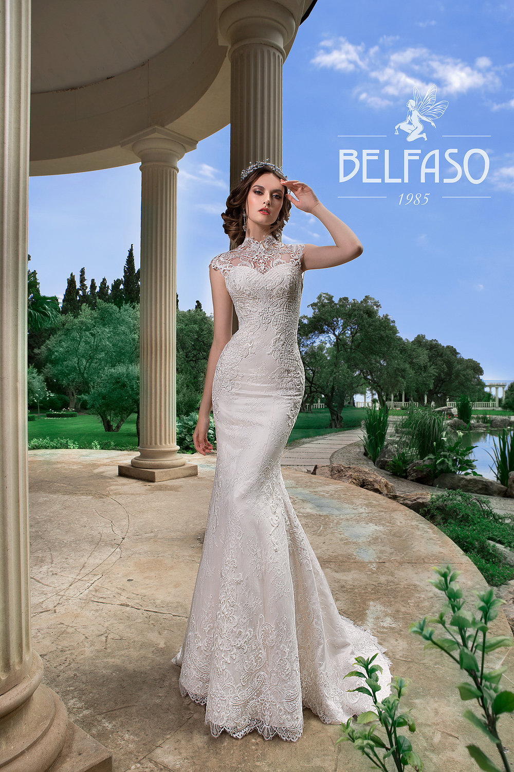 GVINET wedding dress by BELFASO