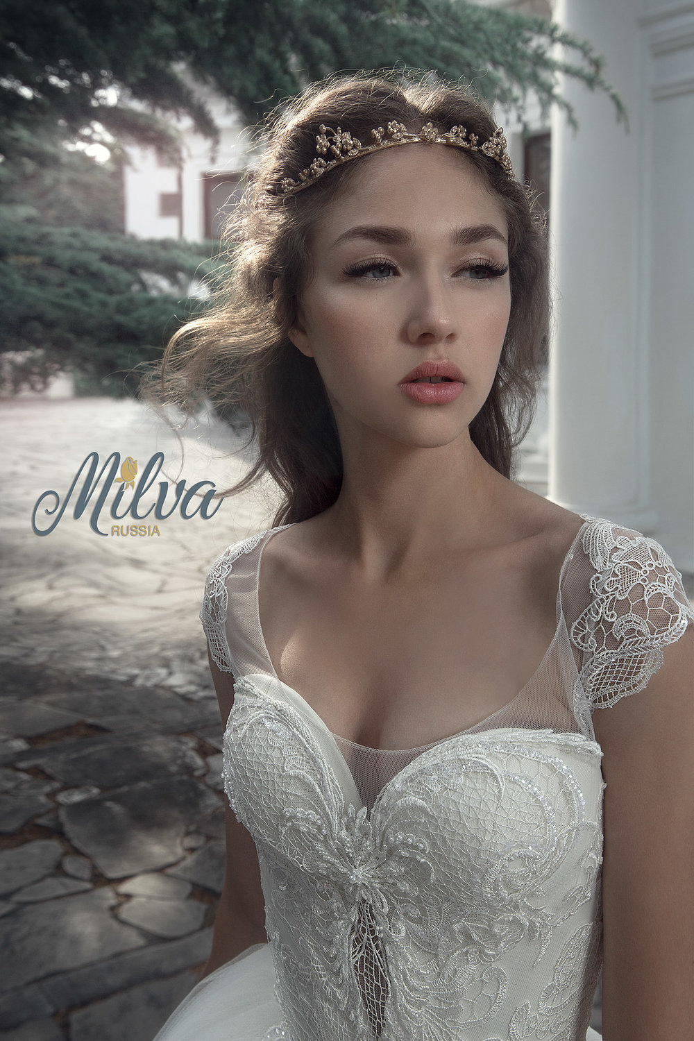 SUNRISE wedding dress by MILVA