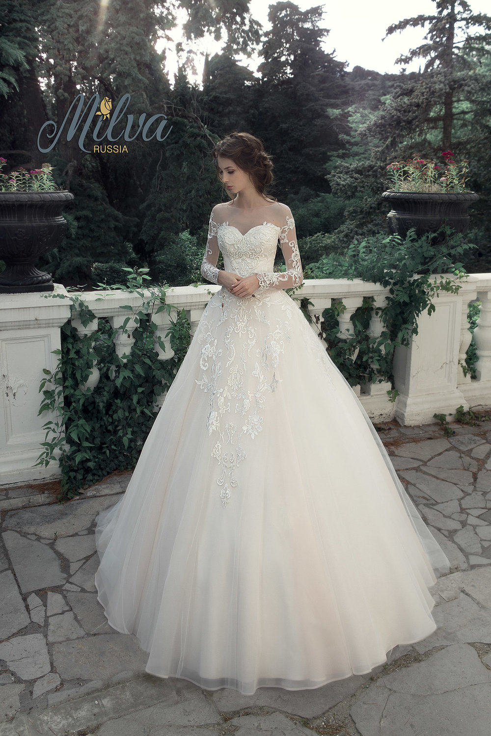LEONTIA wedding dress by MILVA