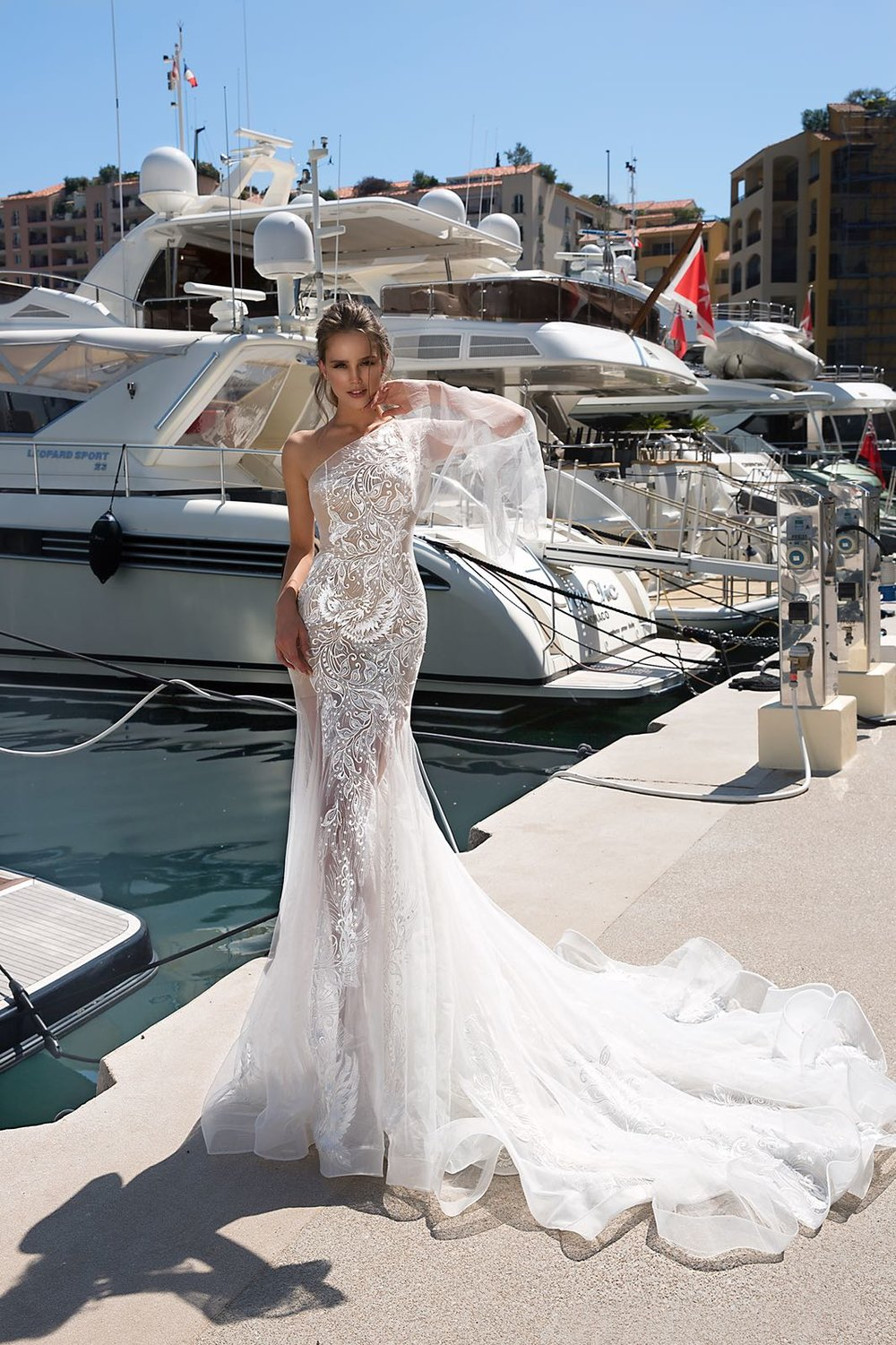 ROSSALEE wedding dress by TINA VALERDI