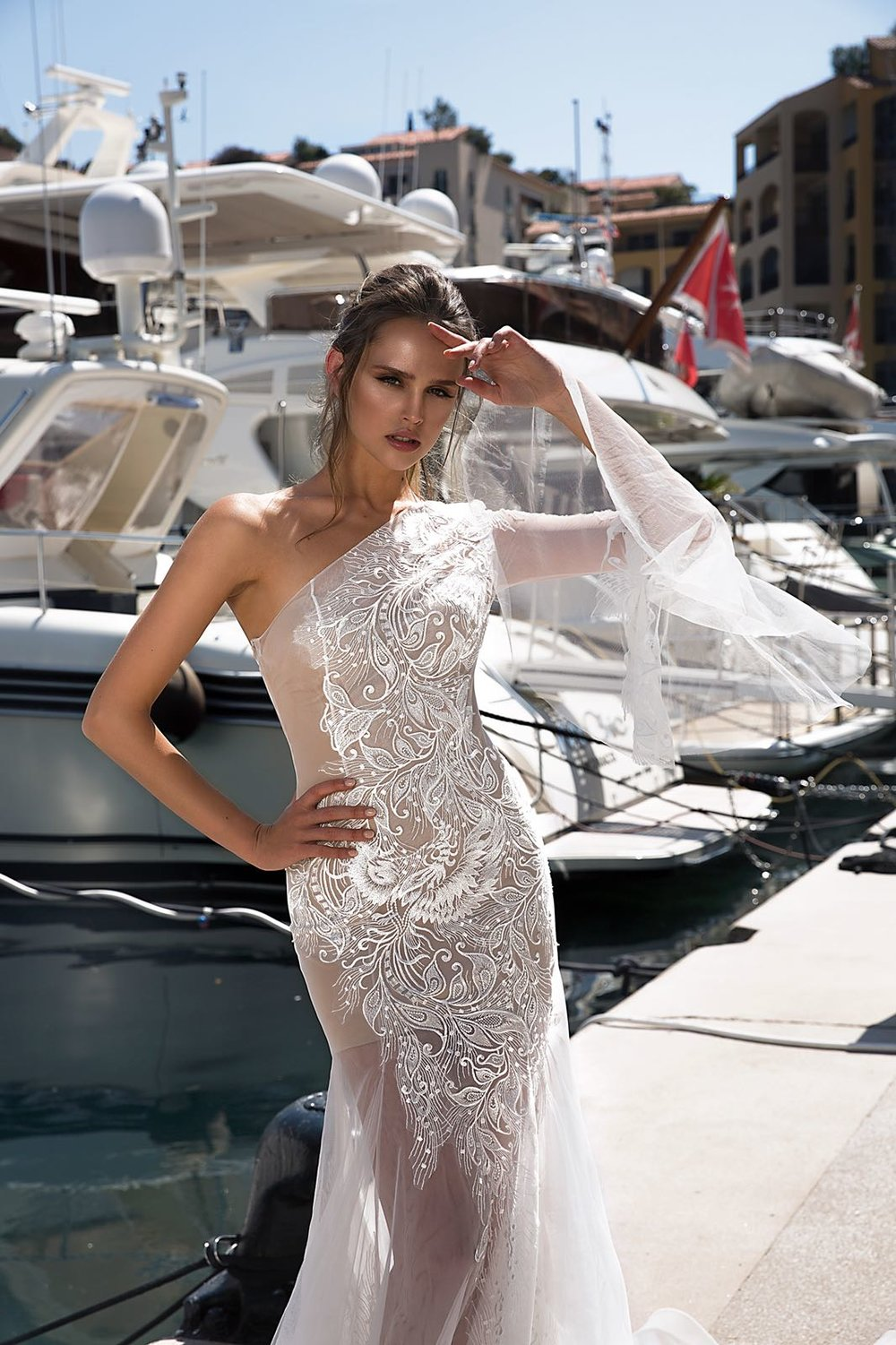 wedding dress ROSSALEE by TINA VALERDI