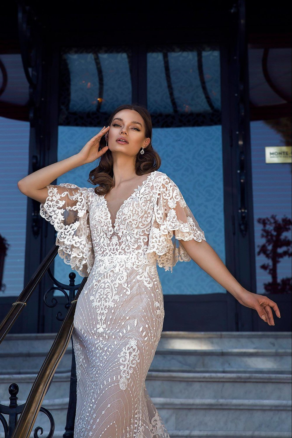 PARIS wedding dress by TINA VALERDI