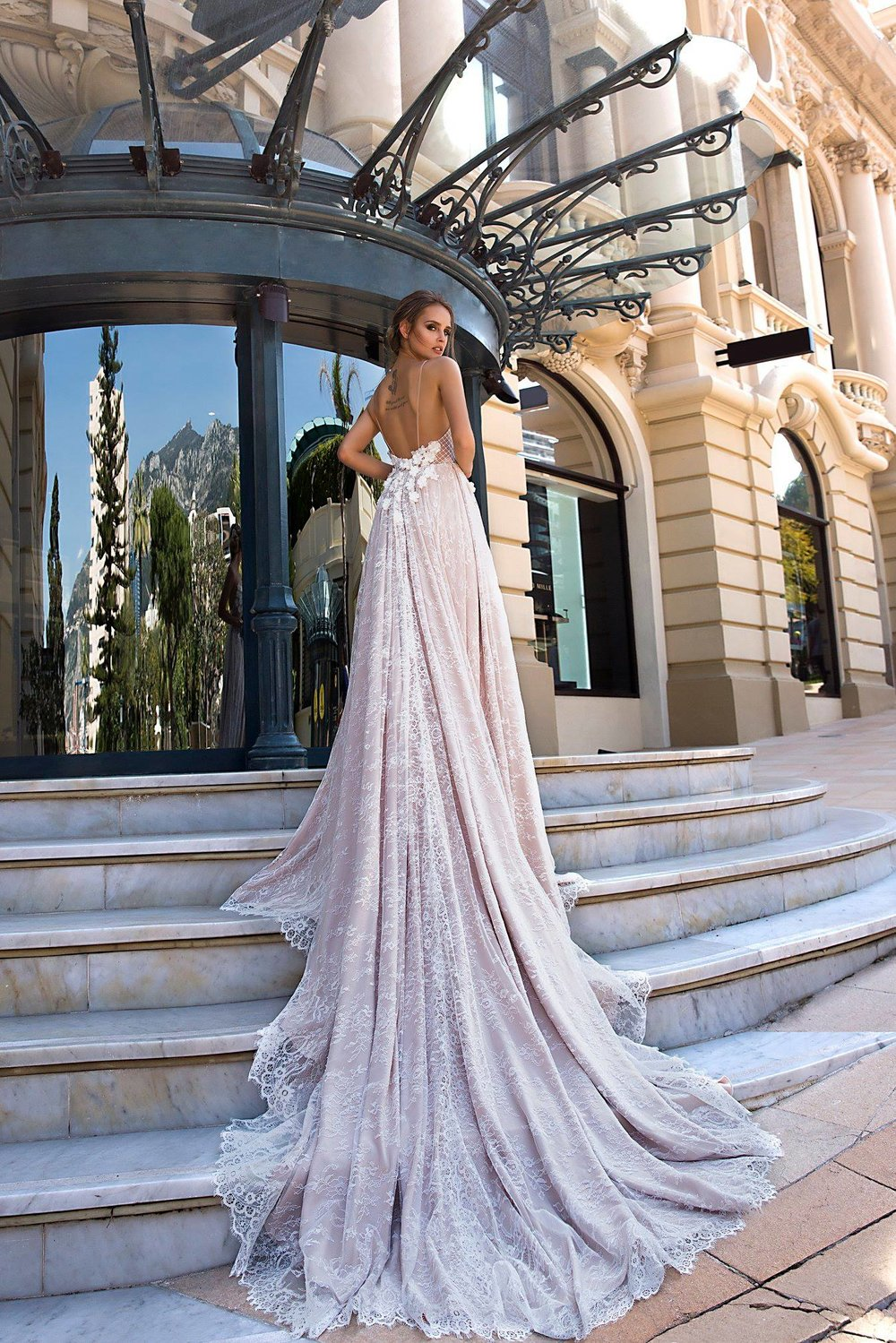 JESSICA wedding dress by TINA VALERDI