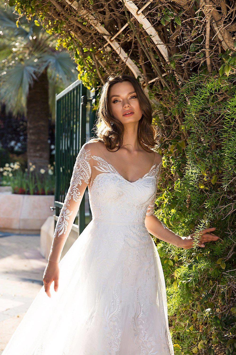 LILIAN wedding dress by TINA VALERDI