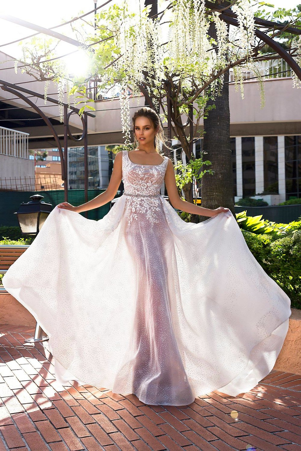 BERTHA wedding dress by TINA VALERDI