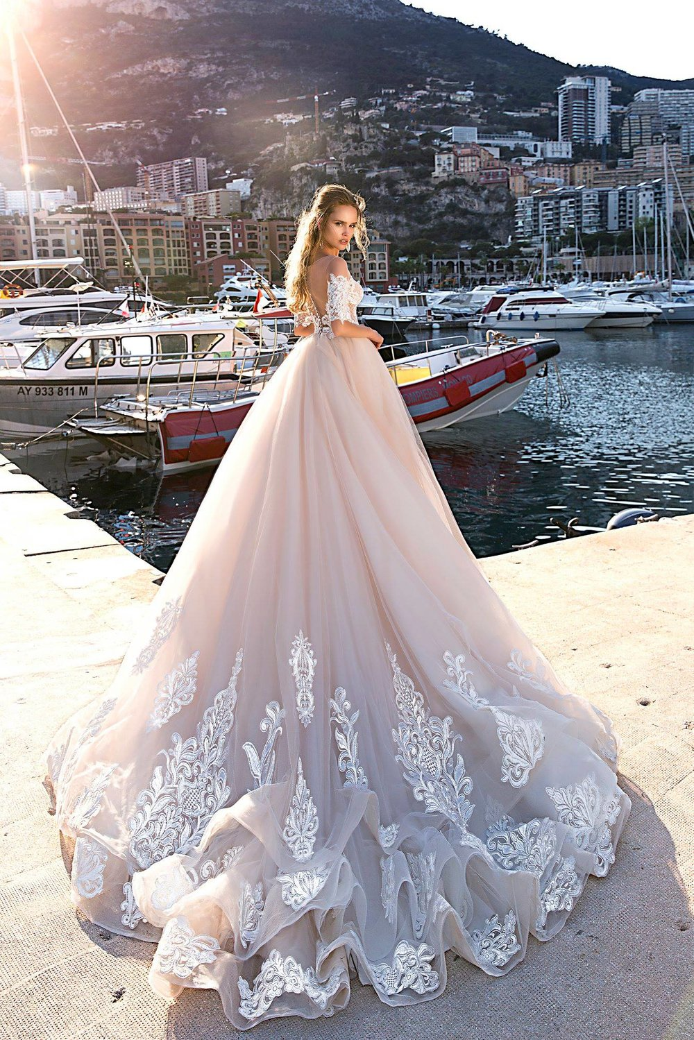 CHARLOTTE wedding dress by TINA VALERDI