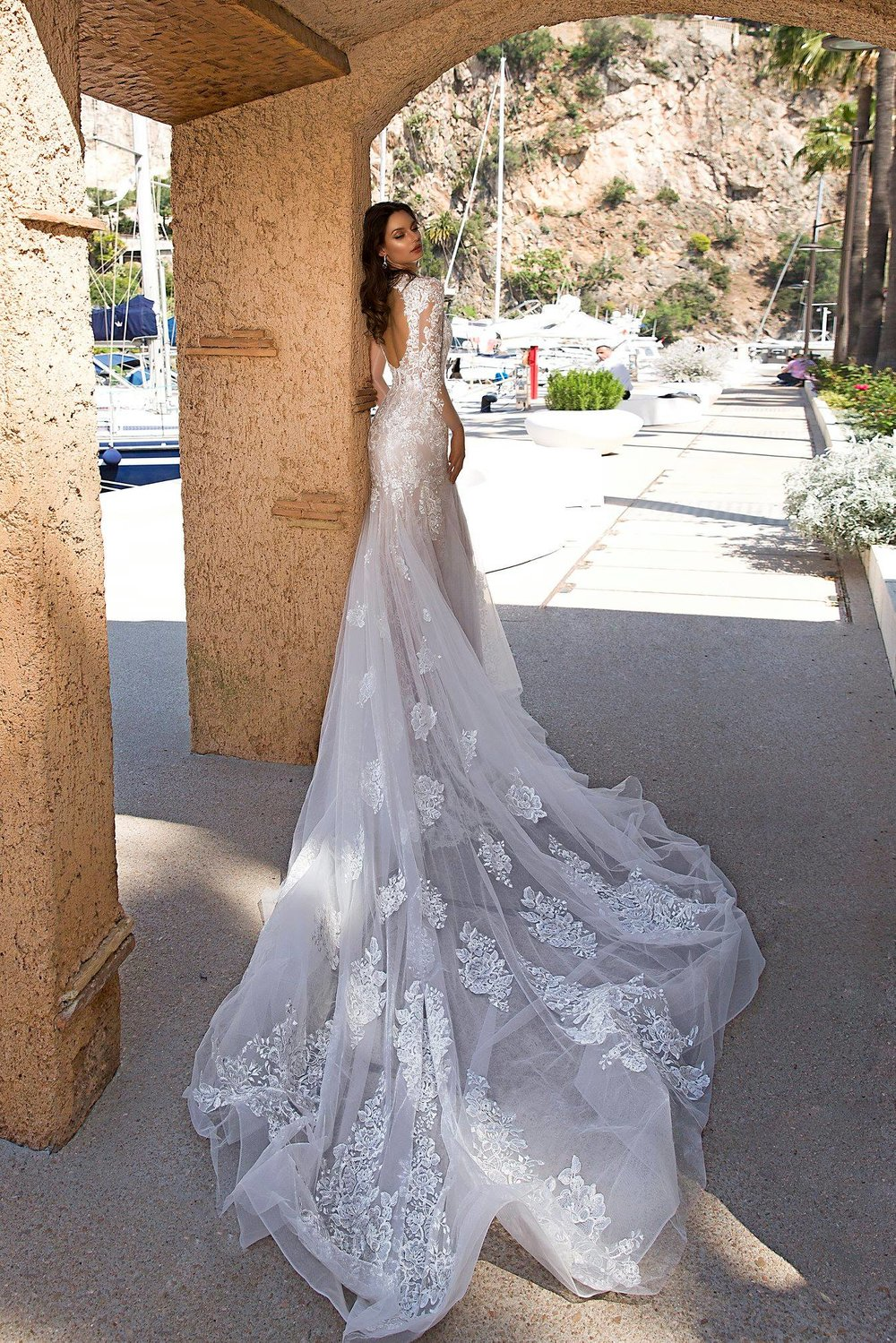 DONATELLA wedding dress by TINA VALERDI