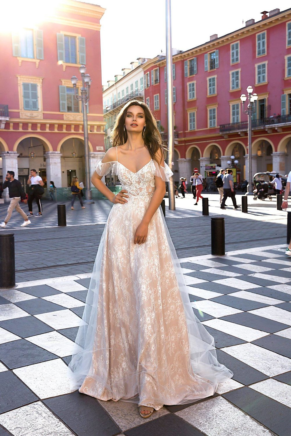 MIA wedding dress by TINA VALERDI