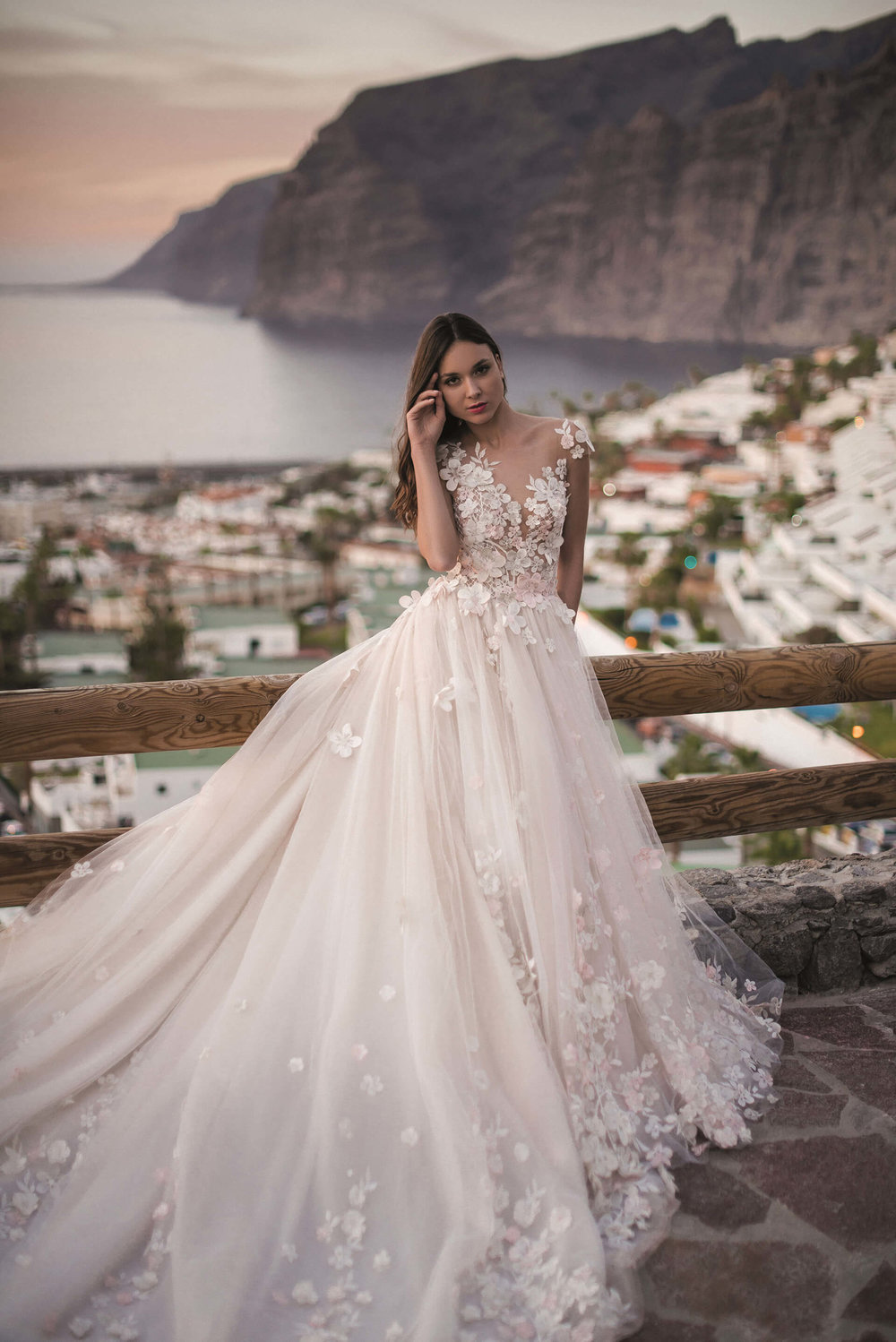 HEIDEN wedding dress by OKSANA MUKHA