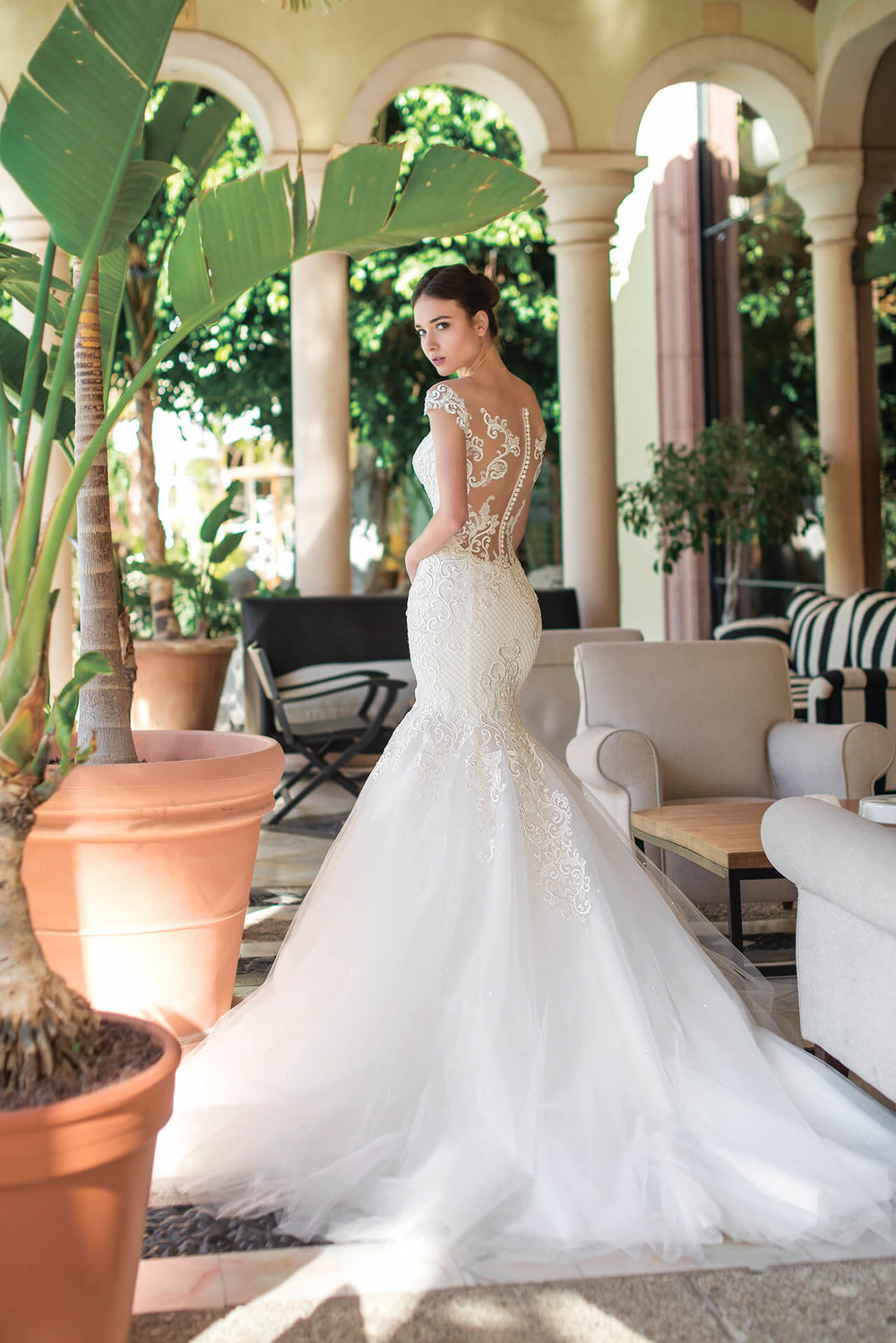 MELISANDRA wedding dress by OKSANA MUKHA